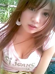 Collection of self shot Thai women